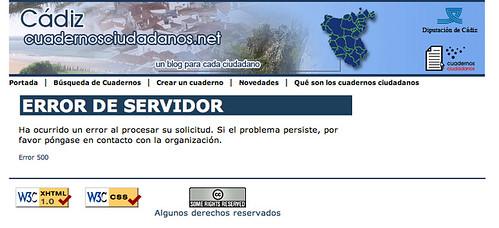 ccc500Cuadernos ciudadanos: error 500