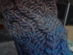Armwarmer detail