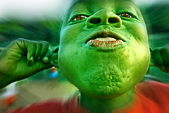 Shrek, the kid... photo by carf