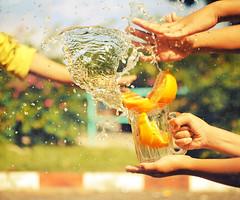 Citrus splash photo by ekamil