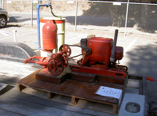 Myers Co. Antique Water Pump (Red) For Sale - MuscleCars.net