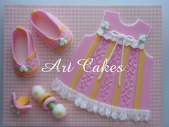 Baby Girl Decorations photo by Art Cakes