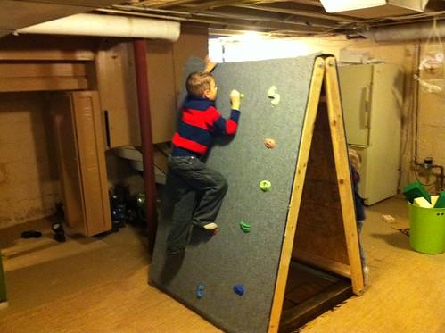 Caleb's Climbing Wall