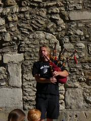 Musique de rue à Oxford - Cornemuse