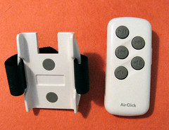 airclick holder and remote