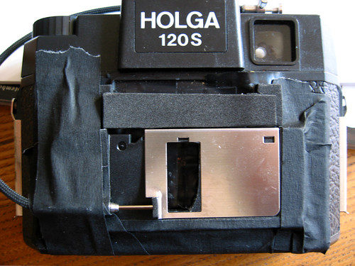 Will Luo's DIY pinholga floppy disc shutter
