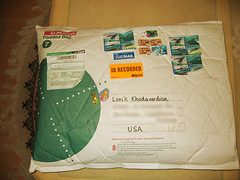 Package from Leanne