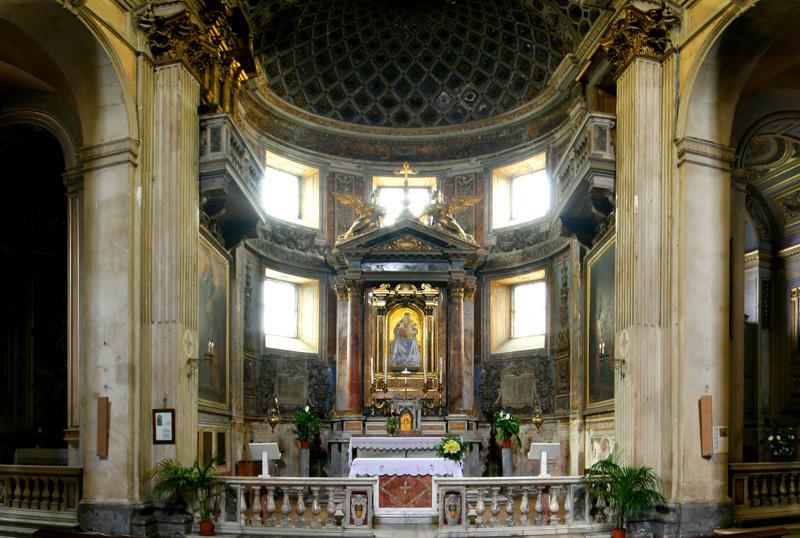 Panoramic Images Of The World Santa Maria Della Consolazione