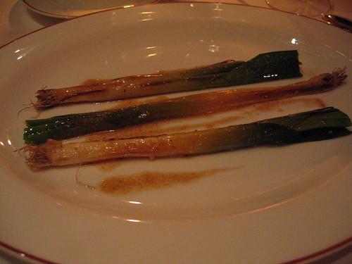 L'Arpege - Leeks Fried w/ Muscadet Oil