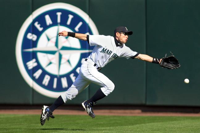 Ichiro misses