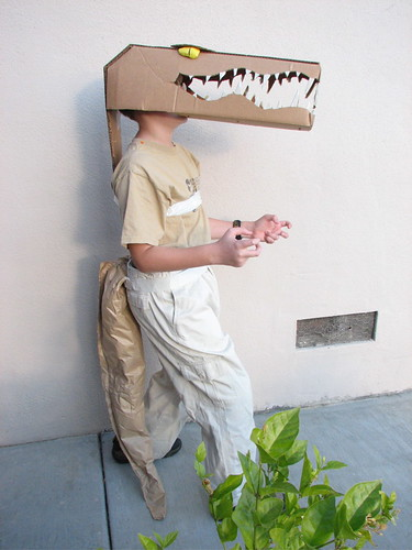 how to make a donkey head out of cardboard