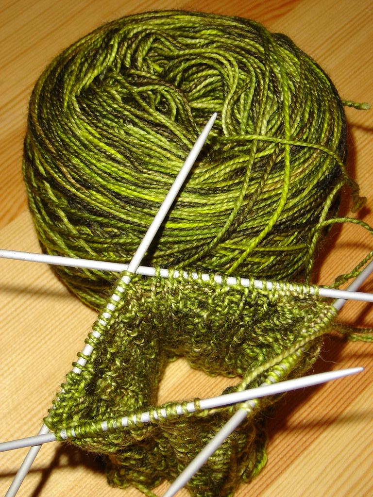 Secret Green socks