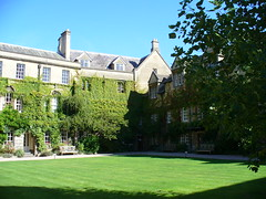 Hertford College in Oxford