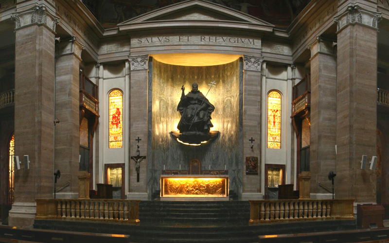 Altar of S Eugenio in Rome