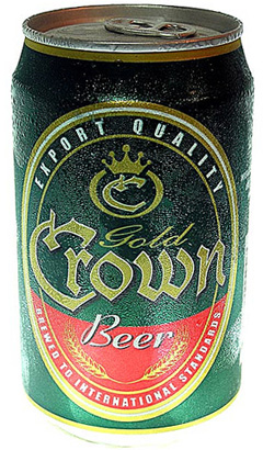 Gold Crown Beer, Cambodia