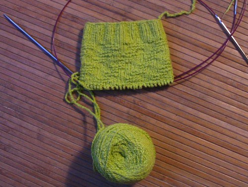 green sock started