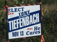Municipal Election Sign 1