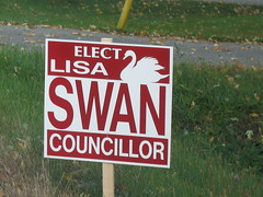 Municipal Election Sign 18