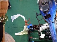 filmacion 4 fantasticos novia y helicopero