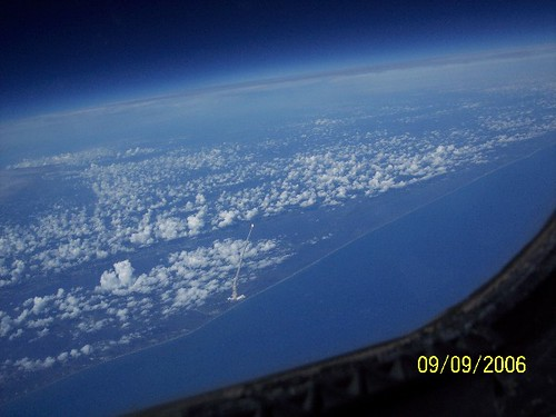 shuttle launch from space station - photo #2