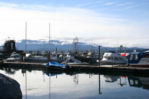 Alert Bay fishing docks