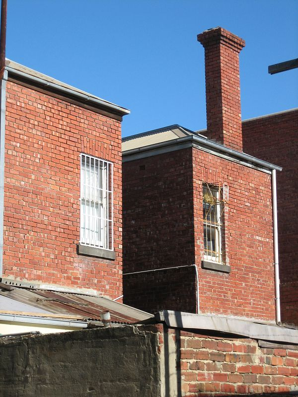 Back of terrace North Melbourne