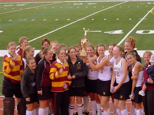 HunterdonWarren Field Hockey Tournament Champs