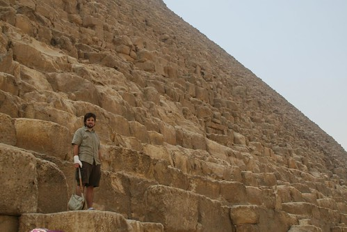 Husbear on Khafre's Pyramid