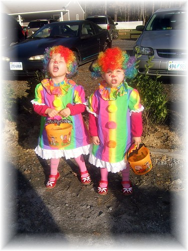wild clowns on patrol.
