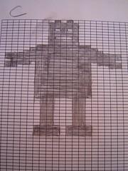 robot pattern C