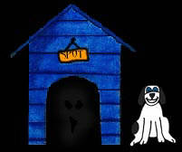 halloween doghouse