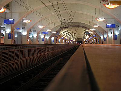 RER E Haussmann Saint Lazare