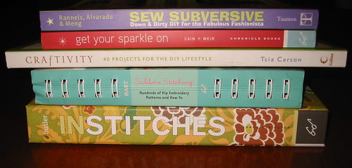 Craft books for my November West Coast Crafty column!