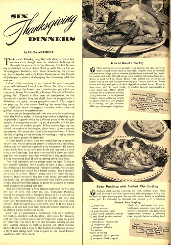 6 Thanksgiving Dinners 1939a