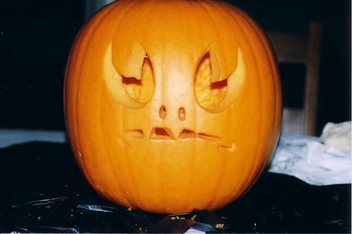 Roswell Alien pumpkin