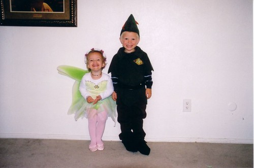 Peterpan and Tinkerbell