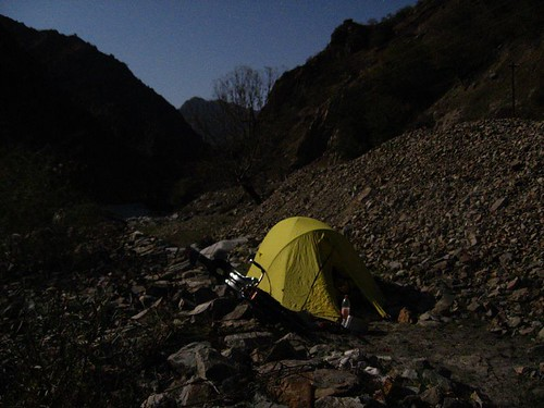 Full moon campspot, towards Anzob Tunnel, Tajikistan