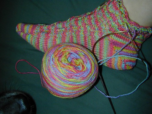 Socks with Miss Babs Sock Yarn