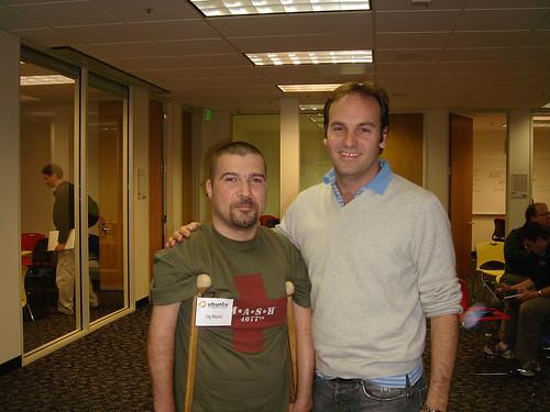 Mark and I