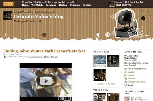Orlando Video Blog