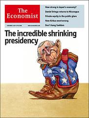 El incre�ble presidente menguante