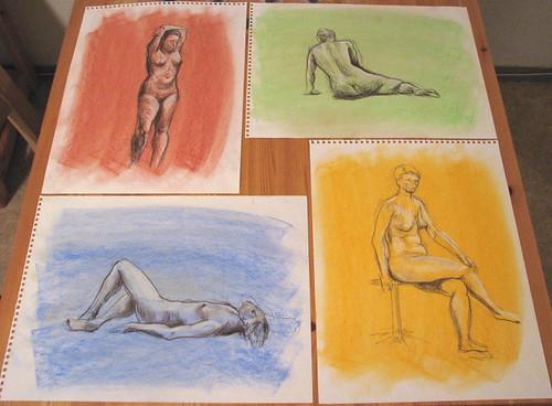 Mosaico - Desnudos
