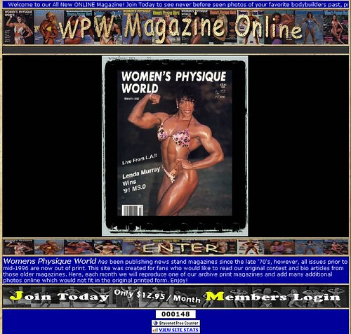 Announcing the new Women's Physique World (WPW) site!