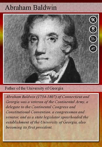 Daily Kos: Forgotten Founding Fathers: Abraham Baldwin