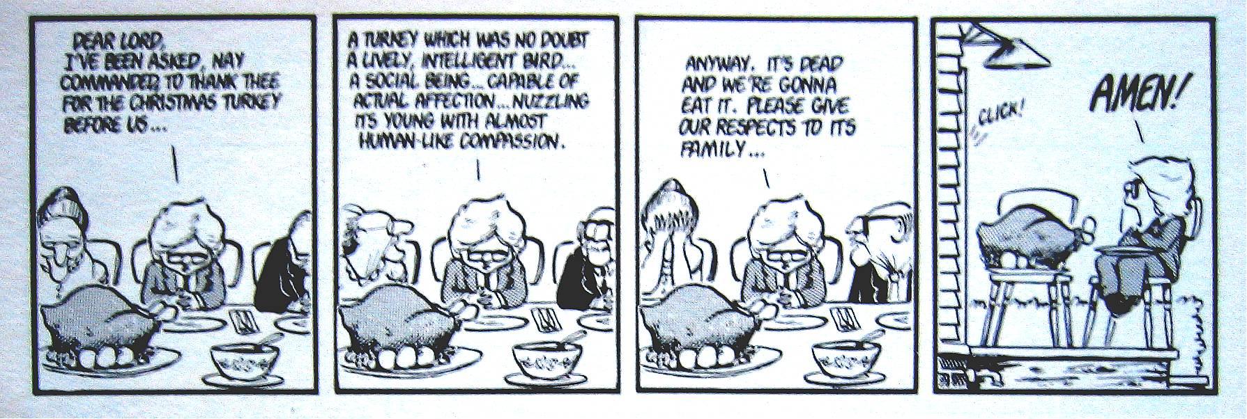 the Fishmonger\'s Place: Milo\'s Thanksgiving Dinner Prayer