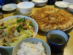 回鍋肉 & 餃子