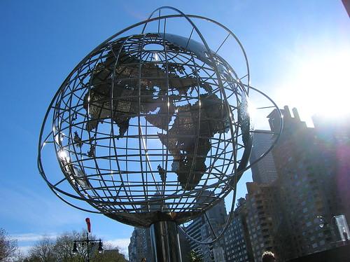 trump globe