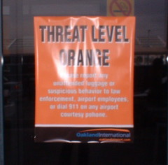 threat level sign