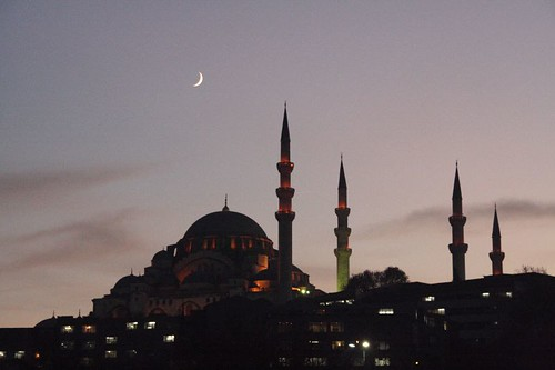 Mosque with Moon