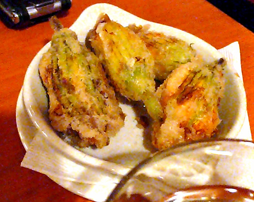 mozza squash blossoms